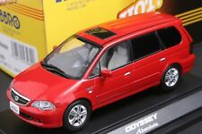 Ebbro 43269 1:43 Scale 2002 Honda Odyssey Absolute (RA6) Die Cast Model Car Red