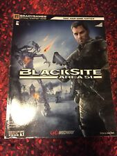 blacksite area 51 brady games official strategy guide