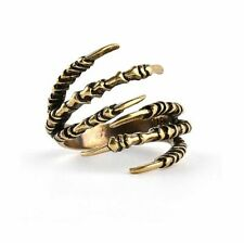 Ring Claw Jewelry Punk Fashion Man Gothic Adjustable Vintage Rings Finger Women