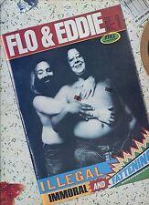 FLO & EDDIE illegal immoral and fattening HOLLAND EX LP