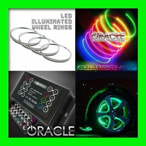 COLORSHIFT LED Wheel Lights Rim Lights Rings by ORACLE (Set of 4) for DODGE 2