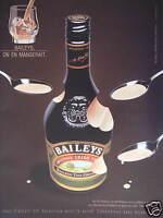 PUBLICITÉ PAPIER 2000 BAILEYS ORIGINAL IRISH CREAM - ADVERTISING
