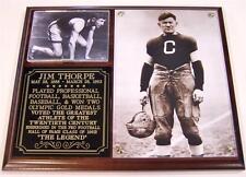 Jim Thorpe The Legend Hall of Fame Photo Plaque Greatest Athlete