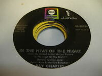 Soul 45 RAY CHARLES In the Heat Of the Night on ABC-Paramount