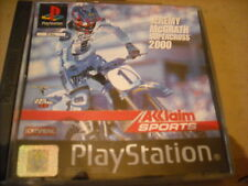 jeu PS1 ,  Jermy mc Grath supercross 2000, TBE   , sans livret
