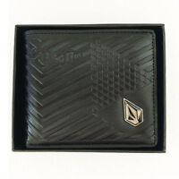 New with Box Volcom Men's Surf Synthetic Leather Wallet  Xmas Gift #211