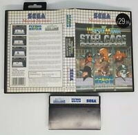 Sega master system game Wrestle mania steel cage challenge NO MANUAL