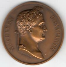 1815 French Napoleon Waterloo Medal, Engraved by Rogat for Paris Mint