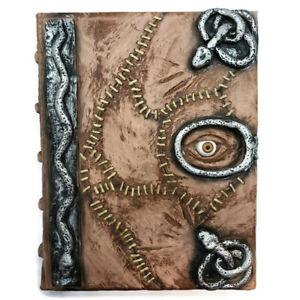 Hocus Pocus Book of Spells Prop - spellbook Halloween Notebook Necronomicon