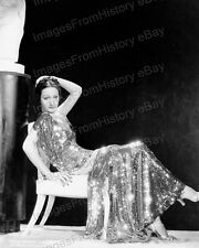 8x10 Print Dorothy Lamour Beautiful Fashion Portrait #DL4