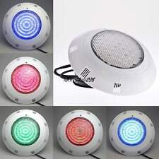 18w 252 LED UNDERWATER SWIMMING POOL LIGHT RGB 7 COLOURS &REMOTE CONTROL AC 12V