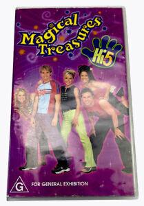 Hi-5  Magical Treasures VHS Video Cassette Tape PAL G 2002