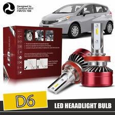 H11 H8 H9 LED Headlight Bulbs 12000LM Kit Low Beam Upgrade 6000K Fog Light DWH