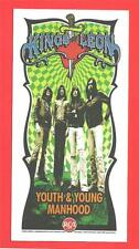 Kings Of Leon Youth & Young Manhood US Promo Only Mini Poster