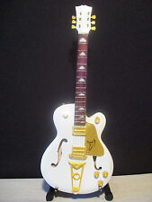 Guitare miniature Gretsch white falcon John Frusciante Red Hot Chili Peppers