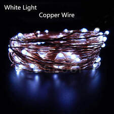 5M-50M 50-400 LED Copper Wire String Fairy Lights Xmas Party Outdoor Waterproof