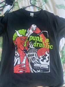 Punk In Drublic Festival Tshirt Nofx Guttermouth Strung Out Bad Religion