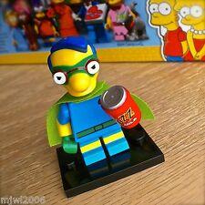 LEGO 71009 THE SIMPSONS Minifigures MILHOUSE as FALLOUT BOY #6 SERIES 2 SEALED
