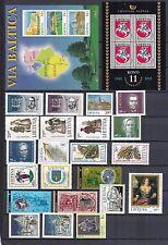 Litauen postfrisch Jahrgang 1995