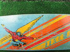Skateboard Vintage True Glide Streaker Original Fiberglass Deck Aluminum Trucks