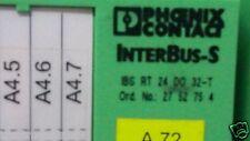 Phoenix contact InterBus-S 27 52 75 4 2752754 BS RT 24 DO 32-T BSRT24DO32-T