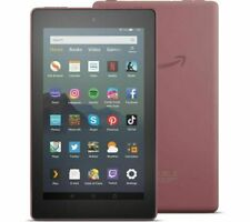 Fire 7 Amazon Kindle Tablet with Alexa,16 GB PLUM, 9th Gen (2019) New UK Model