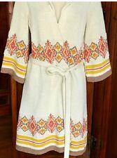 Lilka Anthropologie S Long Hooded Sweater Jacket W/ Tie Waist $168