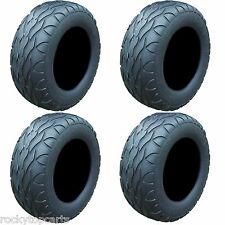 Set of 4 Golf Cart Tires 23x10.00-12 Street Fox Radial 4 Ply