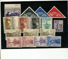 SPAIN Ships Triangulars MNH (16 Stamps) (ZZ 405s