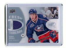 2014-15 Fresh Threads FT-KR Kerby Rychel Blue Jackets Jersey jh17