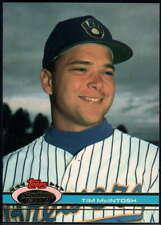 1991 Stadium Club #321 Tim McIntosh Brewers NM-MT