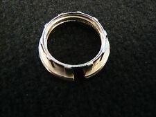 10 x Gewindering / Schraubring / Metallring für G9 Fassung