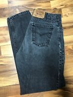 Vintage Levi's 550 Jeans Mens 32 X 34 Made USA Faded Black Tab Denim Tapered