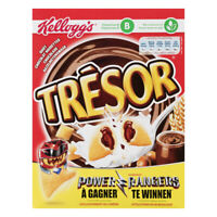 Kellogg's Tresor Chocolate Hazelnut Original Kelloggs Breakfast Cereal 375G