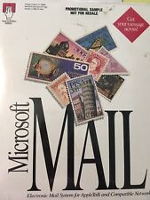 Microsoft MAIL 067-596v310 MAC vintage NEW collectible