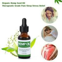 Best Hemp Oil Drops for Pain Relief, Stress, Sleep (PURE & ORGANIC) - 30ml Hot