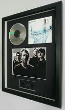 Radiohead-OK Computer Original CD-Ltd Edt-Plaque-Certificate-Luxury Framed