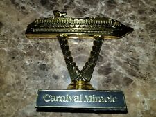 Carnival cruise ship on a stick