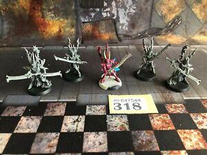 Warhammer 40K - Drukhari Incubi x 5 - Y318