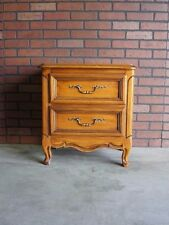 Nightstand ~ Bedside Table ~ Chest ~ Country French Nightstand