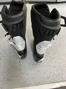 fox 180 racing boots size 10