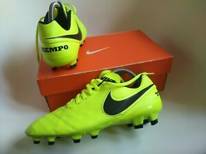 Nike tiempo FG Pro Version size 7 mens football boots real leather premier