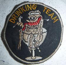 THAI DRINKING TEAM - USAF - Special Operations - Rare Vietnam War Patch - 6088
