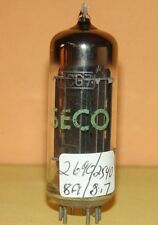 Seco 6CG7 Japan Hitachi Black Plates Vacuum Tube Strong Balanced 2690/2540