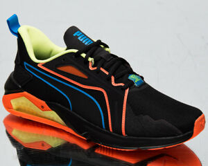 Puma x First Mile LQDCELL Method Xtreme Men's Black Orange Lifestyle Sneakers