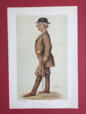 Antique (Pre-1900) White Vanity Fair Art Prints
