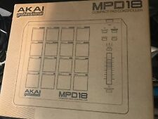 MPD18 Akai Compact Pad Controller Perfect for Studio Production!!