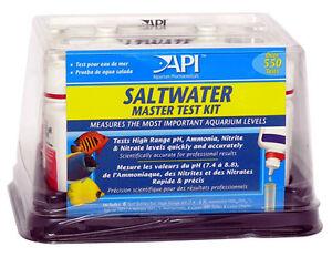 API SALTWATER MARINE MASTER TEST KIT  Free Shipping