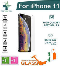 For Apple iPhone 11 Tempered Glass Screen Protector Saver Guard Film New