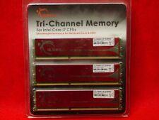 New listing ✬ Pc Computer Memory G.Skill 6Gb (3 x 2Gb) F3-10666Cl9T-6Gbnq Ddr3 1333Mhz ✬